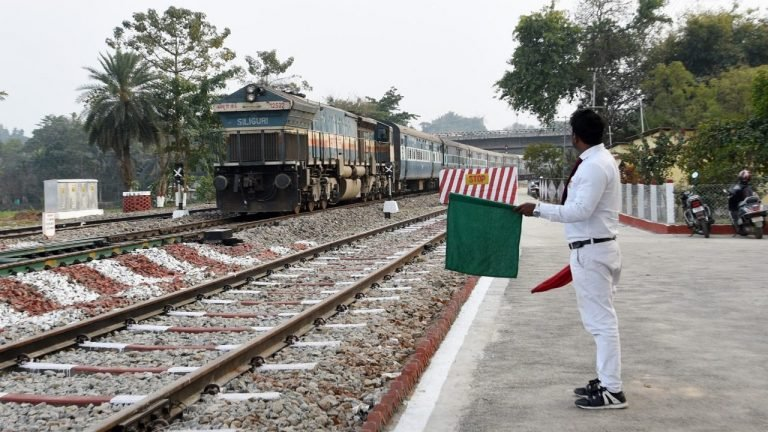 NF Railway Fares Well In Train Punctuality. Check Deets Inside
