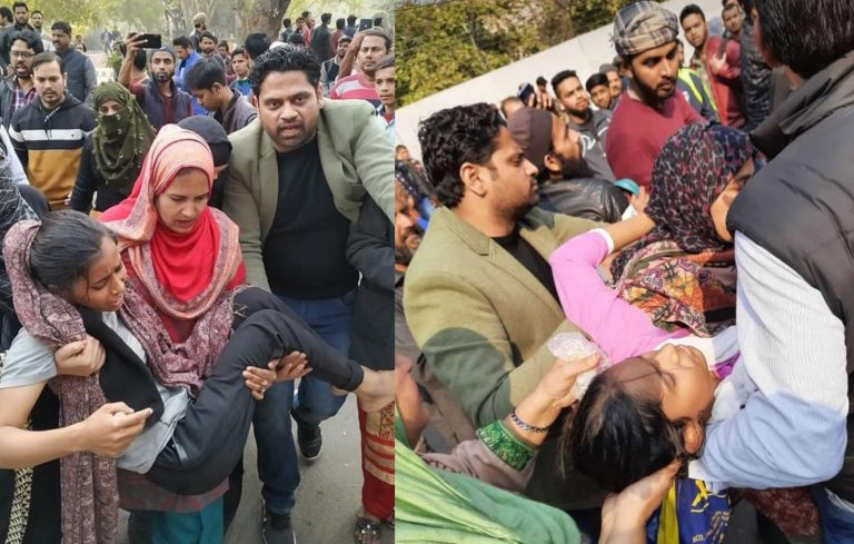 Jamia Students Clash With Delhi Police Over Anti-CAA Protest March; Cops Resort To Lathicharge
